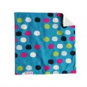 Doubled organic cotton cloth handkerchief